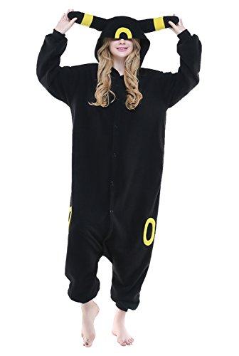 NEWCOSPLAY Halloween Unisex Adult Pajamas Cosplay Costumes (XL, Umbreon)