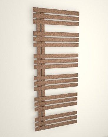 Kora – Toallero Diseño moderno – radiador (cuarto de baño – color cobre metalizado –