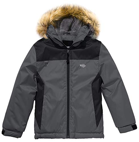 Wantdo Boy's Thick Fleece Lined Winter Jacket Hoodies, used for sale  Delivered anywhere in Canada