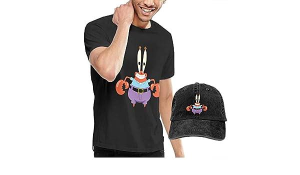 LULALA Mr Krabs Mens Shirts and Hat