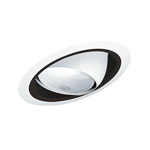 Juno Lighting 619B-WH 6-Inch Standard Slope Eyeball in Bl...