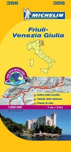 Michelin Map Italy: Friuli-Venezia Giulia 356 (Maps/Local (Michelin)) (Italian Edition) PDF