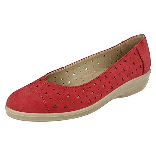 Padders - Sandalias con cuña mujer Rojo - rojo