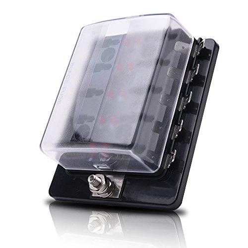 mictuning-10-way-led-illuminated-automotive-blade-fuse-holder-box-fuse-block-with-cover