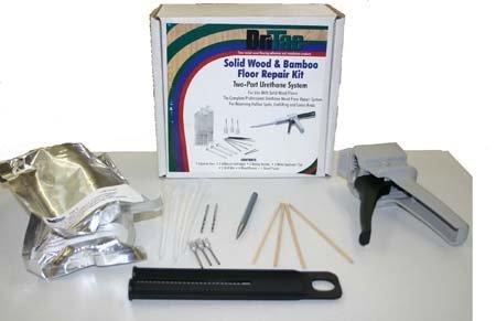 Dri Tac Solid Wood and Bamboo Floor Repair Kit by Dritac