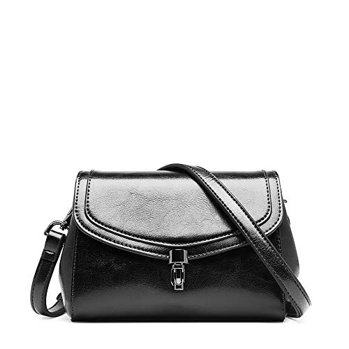 A Vintage In Black Da Pelle Borsa Donna Tracolla dAdIT