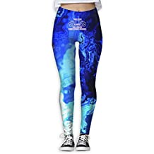 Girl Loves Hallmark Christmas Movies Printed Womenâ€s Full-Length Yoga Workout Leggings Thin Capris