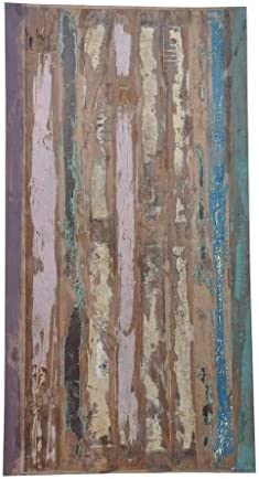 Antique Rustic Reclaimed Wood Table Top 72 x 36 x 2 Multi Color