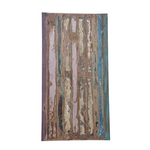 Antique Rustic Reclaimed Wood Table Top 72″ x 38″x 2″ Multi Color