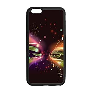 Butterfly iPhone 6 Case,Apple iPhone 6 (4.7inch) Butterfly Flower Printed Case Cover Skin