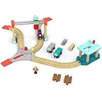 Thomas & Friends Wood Lift & Load Cargo Train Track Set