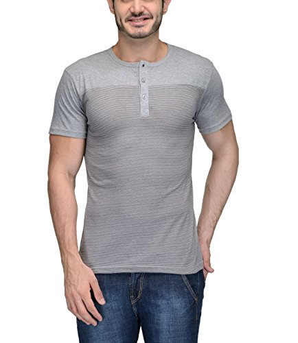 TeeSort Men's Cotton Henley T-Shirt