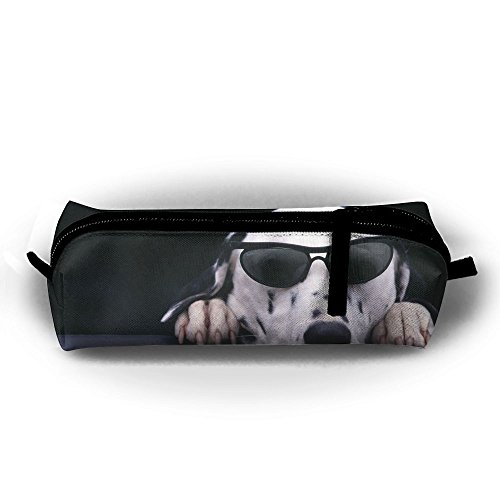 Dalmatian Face Sunglasses Dog Full Print Sublimation Pencil Case Smooth Cosmetic Makeup Bag Case Multi-Functional Pouch Zipper Bag Use In School Office Art - Sunglasses Youtube