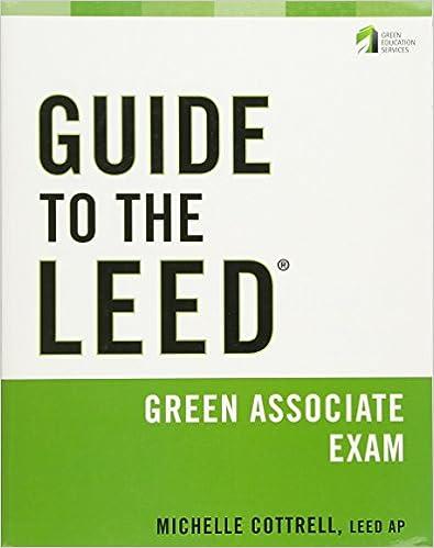 Leed Green Associate Study Guide Pdf