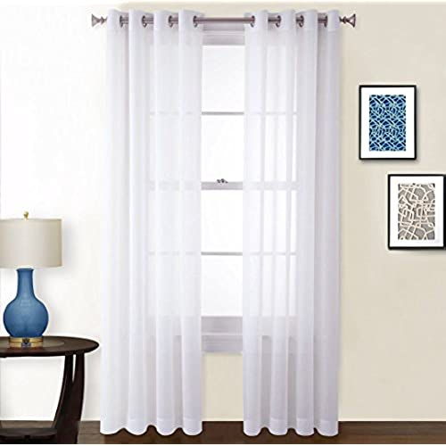 Amazon Curtains Bedroom: Sheer Curtains For Bedroom: Amazon.com