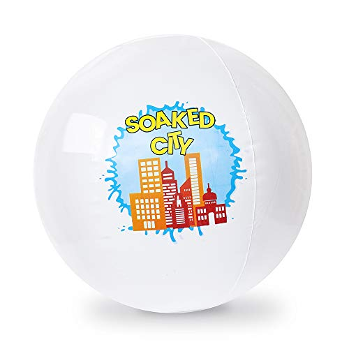 Led Beach Ball - Soaked City LED Beach Ball |