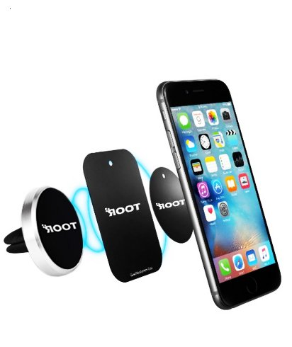 Gold Root Car Mount Gold Compact Air Vent Magnetic for Cell Phones and Mini Tablets Root Car Mount Root