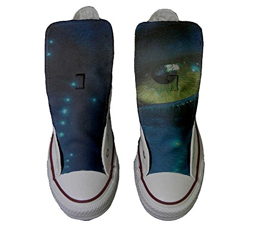yeux coutume Hi Unisex Sneaker produit All Personnalisé Converse Star Imprimés artisanal chaussures Italien des et n8z6qzXxZ0