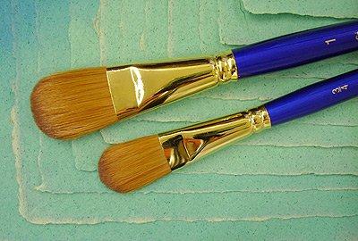 Sapphire Brush by Robert Simmons- Oval Wash Brush 3/4 Inch