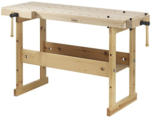 Sjobergs Hobby SJO-33281 Hobby Plus 1340 Birch Workbench, a Vice That Fits Any Budget