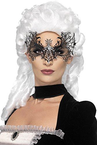 Ladies Black Widow Web (Spider Web Mask)