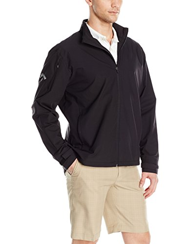 Jacket Golf Wind (Callaway Men's Long Sleeve Opti-Repel Full-Zip Wind Jacket)