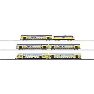 """Trix T11616 - Märklin Minitrix - Regional Express """"metronom"""""""