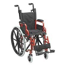 "Wallaby Pediatric Folding Wheelchair, 12"" Seat"