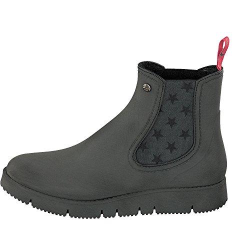 Gosch Shoes Botines Chelsea de Caucho Mujer negro