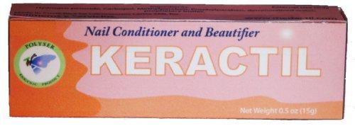 Keractil - Traitement mycose des ongles - SAFE, SUPER EFFICACE - Cure complète; Empêche Retour Champignon - Pas Effets secondaires - Embellit et fortifie les ongles