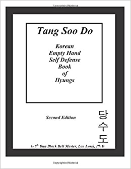 Book Tang Soo Do Korean Empty Hand Self-Defense Book of Hyungs