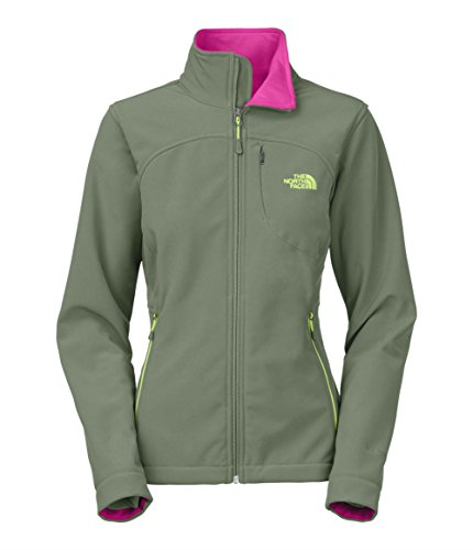 The North Face Womens Apex Bionic Softshell Jacket, Laurel Wreath Green, Medium