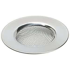 Trixes Sink Strainer For Shower Bath Or Kitchen Sinks Stainless Steel Sink Drain Filter 3 7 6cm Outer Diameter