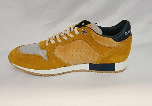 Uomo DAcquasparta scarpa cosimo u200ga arancio made in italy nr.
