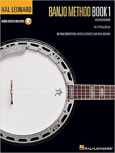 hal leonard banjo method book 1 for 5 string banjo