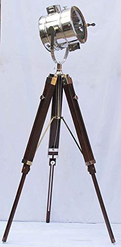 - Shiv Shakti Enterprises Nautical Photography Designer Studio Floor Searchlight 3 Fold Tripod Stand