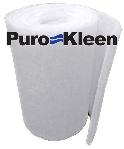 - Puro-Kleen Ultra-Guard Premium Pond & Aquarium Filter Media 12 inches x 6 Feet