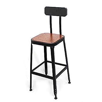 Furniture Dynamic Masters Style Retro Modern Designer Kitchen Patio Bar Stool Chair 65cm Black Bar Stools