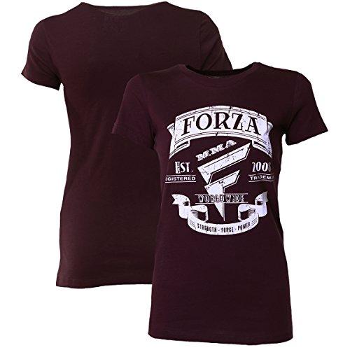 Forza MMA Women's Origins T-Shirt – possibly Plum – DiZiSports Store