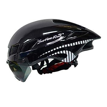 Murphytonerty Casco de Seguridad para Bicicleta protección de montaña, Casco de Ciclismo, Resistente al