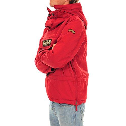 Gilet S old Da 094 Esterno Napapijri rosso Uomo Red dSFwqd1p