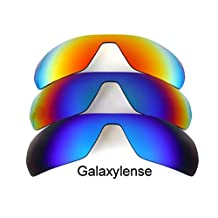 Galaxy Replacement Lenses for Oakley Offshoot Blue&Green&Red Polarized,3 Pair