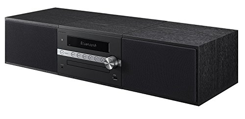 Pioneer X-CM56B Mini Stereo System with Built-in Bluetooth (Black) by Pioneer
