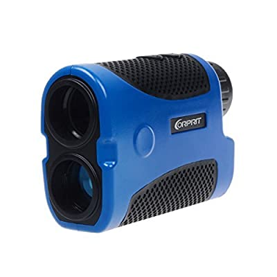 Corprit Portable Laser Rangefinder Telescope Range Finder for Golf Camp Hunting Outdoor Sports and Engineering by Corprit