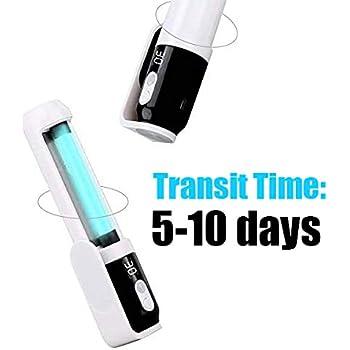 gakus Portable 3W UV Sanitizer Wand Handheld Waterproof UV Lamp Sterilizer for Hotel Household Wardrobe Toilet Car Kitchen tToys Pet Area Travel Size Air Purifier