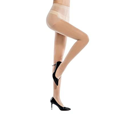 Aurora & Abigail Women's Full Length Reinforced Pantyhose - Top Tights with comfort Stretch: Clothing