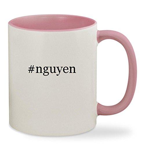 #nguyen - 11oz Hashtag Colored Inside & Handle Sturdy Ceramic Coffee Cup Mug, - My Glasses Vu