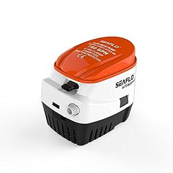 Seaflo 750 GPH 12 V 3.0 A Auto bombas de sentina interruptor de flotador para Marine RV campistas: Amazon.es: Deportes y aire libre
