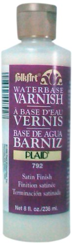 (FolkArt Waterbase Varnish (8 Ounce), 792)