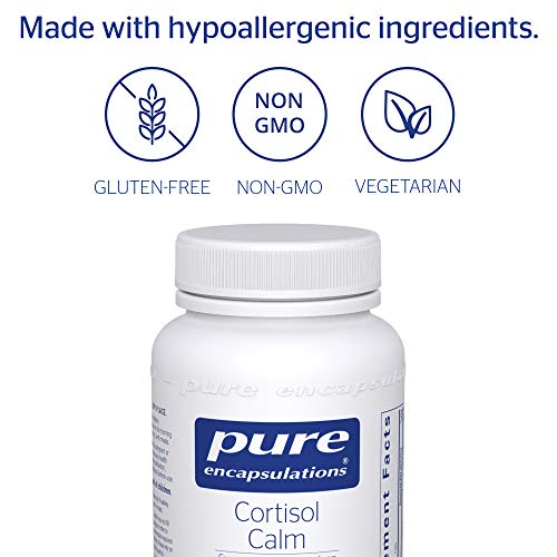 Pure Encapsulations - Cortisol Calm - Hypoallergenic Supplement to Maintain Healthy Cortisol Levels* - 120 Capsules by Pure Encapsulations (Image #3)